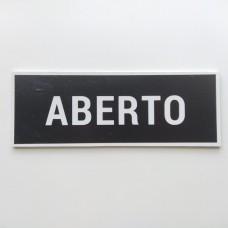 Placa Aberto / Fechado