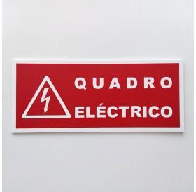 Placa Quadro Elétrico