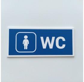 Placa WC Senhoras