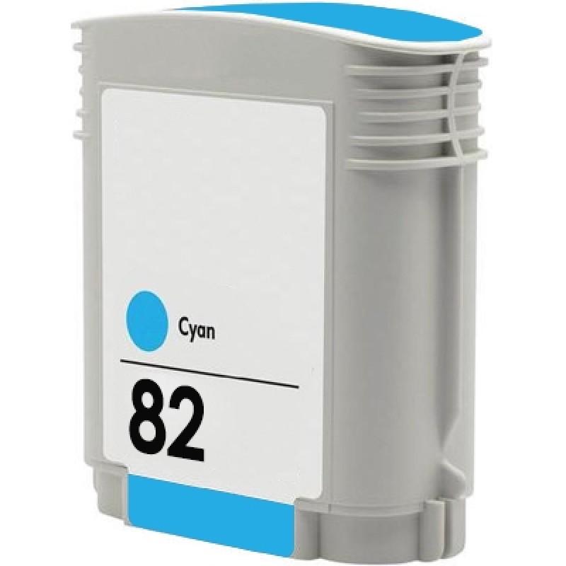 Tinteiro Compatível HP 82 Cyan XL