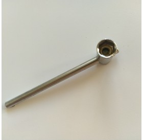 Chave de caixa sextavada de 10 mm em T Articulado
