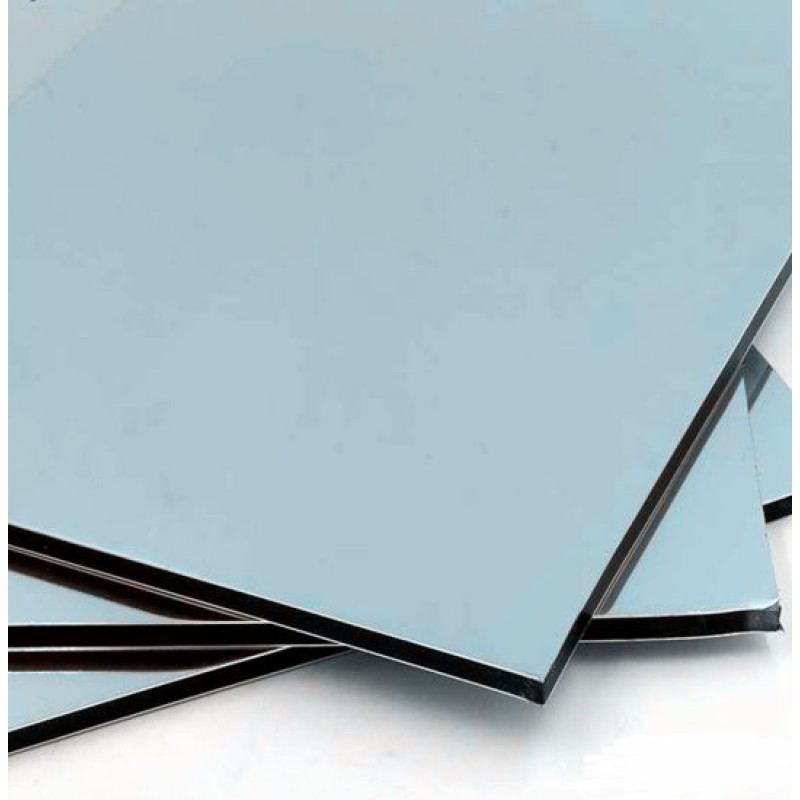 Placa Alumínio 1 Face Branca 3 mm 39 x 177 cm LuxBond