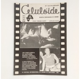 "Revista ""Celulóide"" - Julho, Agosto, Setembro de 1984"