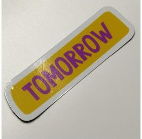 "Magnético ""Tomorrow"""