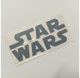 """Autocolante """"Star Wars"""" em vinil cinzento recortado"""