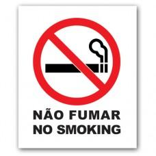"""Autocolante """"Não Fumar"""" Pequeno"""
