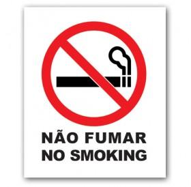 """Autocolante """"Não Fumar"""""""