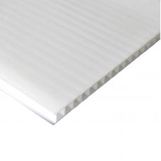 Chapa Polipropileno Alveolar Branco 3,5 mm