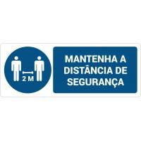 Mantenha a distância de segurança