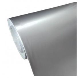 Folha de Papel Autocolante Prata Brilhante 80gr 33 x 48,8 cm