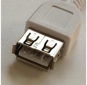 Cabo USB 2.0 Fêmea / Micro USB Macho OTG