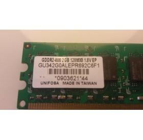 Memória 2GB GDDR2-800 128MX8 1.8V EP