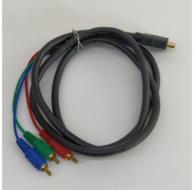 Cabo / Adaptador HDMI-RCA AV Macho