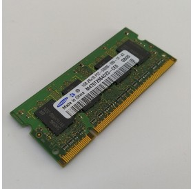 Memória 1GB SODIMM DDR2 Samsung para portátil