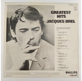 "Jacques Brel ""Greatest Hits"" - Disco de Vinil LP"