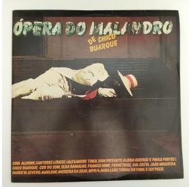 """Ópera do Malandro"" de Chico Buarque - Disco duplo de Vinil LP"