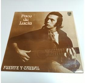 """Paco de Lucia - """"Fuerte y Caudal"""" - Disco de Vinil LP"""
