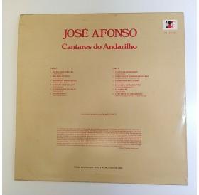 "José Afonso- ""Cantares do Andarilho"" - Disco de Vinil LP"