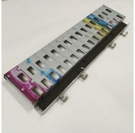 Mimaki JV5-160S - Base das cassetes dos cartuchos de tinta