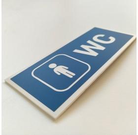 Placa WC Homens