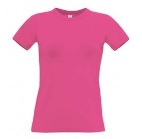 T-shirt Rosa 190gr Senhora XL - 100% Algodão