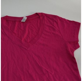 T-Shirt Rosa L de Senhora