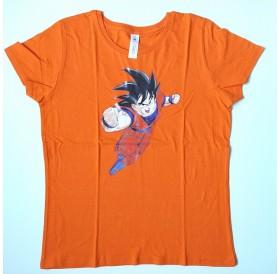 """T-Shirt de Senhora """"Goku"""""""
