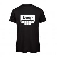 """T-Shirt Preta """"Jeep"""" Tamanho M"""